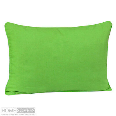 "20"" x 30"" Home Decor LUXURY cotton Green Pillow Case / COVER 2 in 1 Set"
