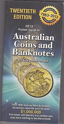 The Pocketbook Guide for Australian Coins & Banknotes Greg McDonald 20th Edition