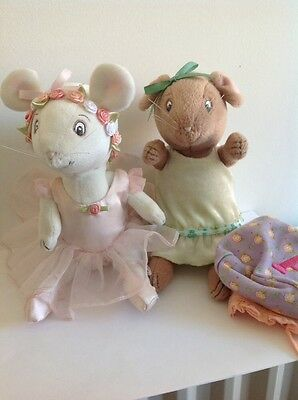 ANGELINA BALLERINA - ANGELINA & HER FRIEND ALICE Jointed Legs, American Doll?
