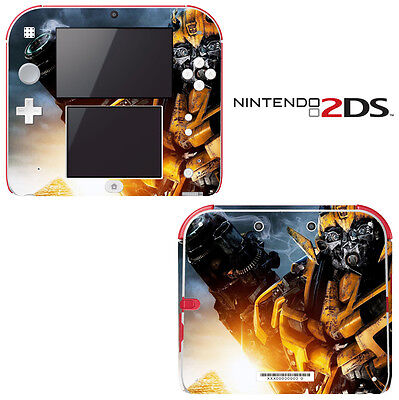 Vinyl Skin Decal Cover for Nintendo 2DS - Transformers Bumblebee