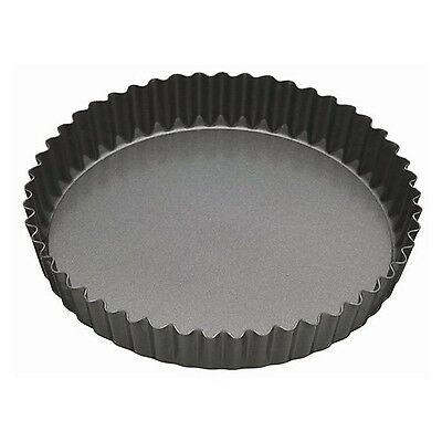 Master Class Non-Stick Fluted Flan Tin / Quiche Pan with Loose Base 25 cm (10...
