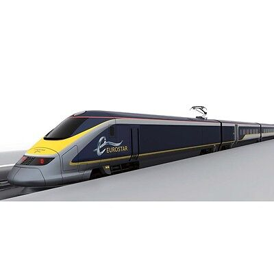 New N Gauge 10-1297 Eurostar New Paint 8 Both Basic Set