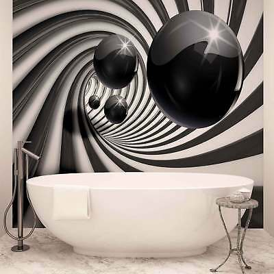 WALL MURAL PHOTO WALLPAPER XXL Abstract Modern Black White (3065WS)