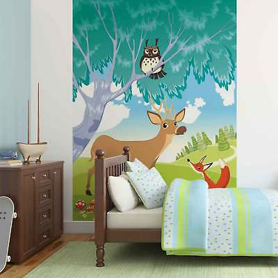WALL MURAL PHOTO WALLPAPER XXL Animals in The Forest (2428WS)