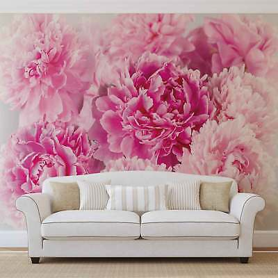 WALL MURAL PHOTO WALLPAPER XXL Pink Carnations (1342WS)