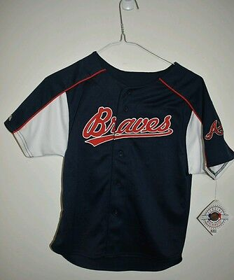 MLB Atlanta Braves Jason Heyward J-Hey shirt bnwt new boys kids medium Stitchers