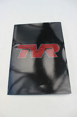 TVR Press Pack 1986 - featuring S, 350i, 390 SE, 420 - factory sales brochure
