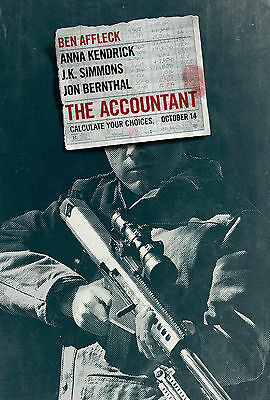 The Accountant Movie Poster 61x91 cm