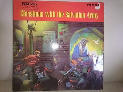 Christmas with the Salvation Army - LP 1961 Regal Zonophone – LRZ 4004