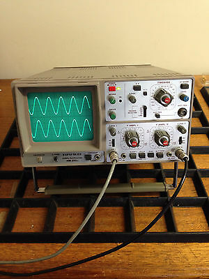 Hameg 203-4 Oscilloscope with New Pair Good Quality probes and Manual in GWO