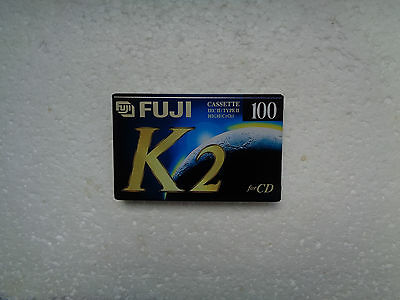 Vintage Audio Cassette FUJI K2 100 * Rare From 1995 *