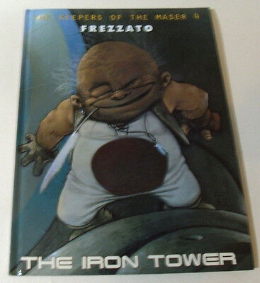 The Iron Tower Keepers of the Maser 4 Massimiliano Frezzato Graphic Novel BOOK