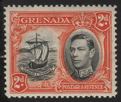 1938, Grenada, 2p, MNH, Seal of the Colony, Sc 135