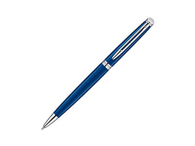 Waterman Hémisphère Ballpoint Pen, Lacquer, Palladium Trim, Blue, 1904603