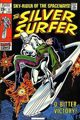 Classic Vintage SILVER SURFER Comics on DVD