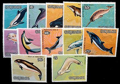 COOK ISLANDS 1984 Whales (12) SG946/57 Cat £16 NEW LOWER PRICE FP8447