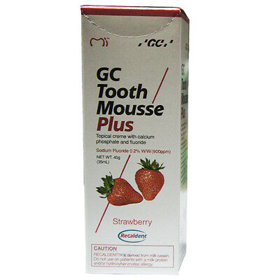 GC Tooth Mousse Plus Protects Our Teeth From Decay And Sensitivity 40gm