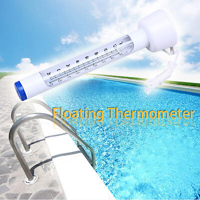 Swimming Pool Spa Hot Tub Sauna tube Water Thermometer Floating in Pool String