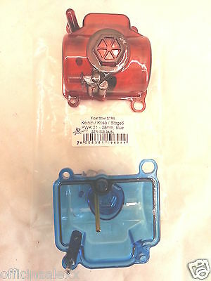BOWL CARBURETTOR PWK 21/28 mm kwihin/coso/stage 6 transparent RED