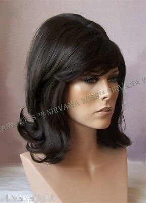 60's Style Flick Back Beehive Drag/Fun U Choose Color wig/wigs