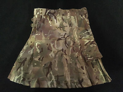 NEW MTP -multicam Scottish Kilts -military wear - army vs Navy Rugby 32-34 inch