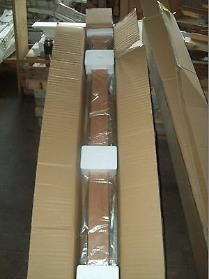 "64"" LJ SMITH HEART CHERRY STAIRCASE NEWEL POST - NEWnBOX- MODEL 4077- QUICK SHIP"