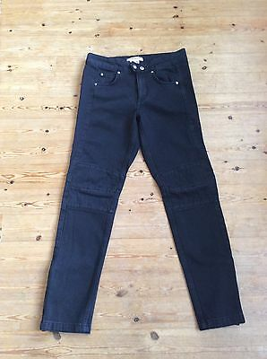 Isabel Marant for H&M black biker jeans size 12-13 years, 158 cm New