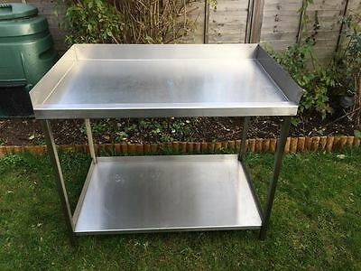 Commercial Catering Stainless Steel Table With Shelf