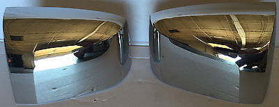 Volvo Truck Hood Mirror Cover Chrome Set  Vn Vnl Vnm New Style