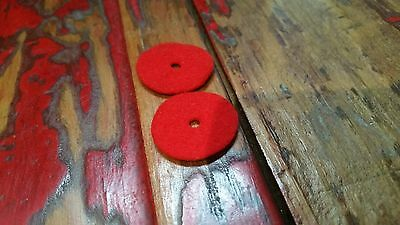 Replacement Red Felt Spool Washers For Singer Sewing Machines