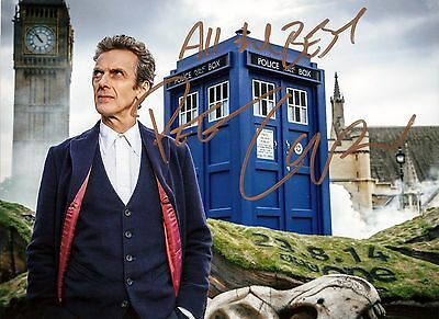 93.  Peter Capaldi Dr Who  Signed   Photograph #