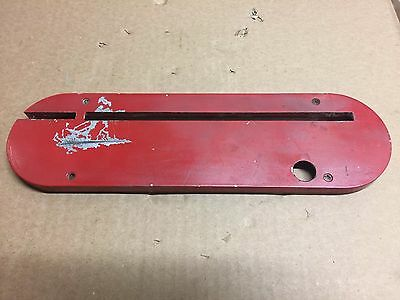 """Delta Rockwell Unisaw 10"""" Table Saw Blade Insert Throat Plate 422-04-063-2001"""