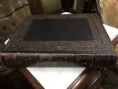 Antique Leather Bound Holy Bible