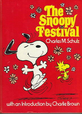 Peanuts - The Snoopy Festival - Charles M Schulz - 1979 Hb  - Very Good/good