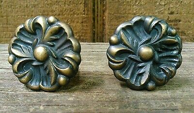 antique vintage drawer pulls