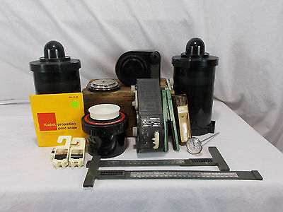 Lot Vintage Unicolor KODAK Paterson Western Film Developing Containers Equipment