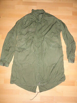 Us Army Parka + Liner Fishtail M65 Olive Green Extreme Cold Weather, Jacket Grün