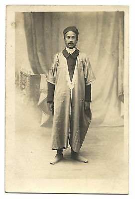 Carte Photo.portrait.costume.afrique Du Nord.ethnique.