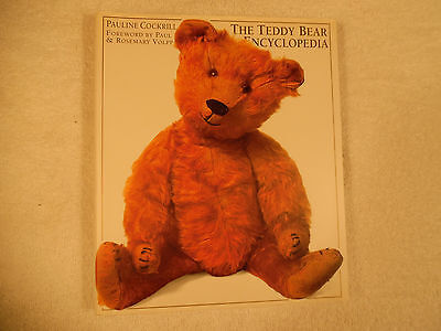 The Teddy Bear Encyclopedia Cockrill Signed 1st Edition Illustrated 160-7B
