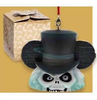 Disney Park Pack Holiday Haunted Mansion Hatbox Ghost Ear Hat Ornament - Sub Box