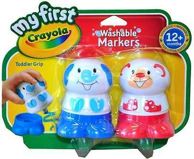 My First Crayola Washable Markers Blue/Red