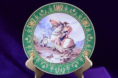 1984 Bonaparte traverant le Alpes - Bonaparte Crossing the Alps Plate C. Boulme
