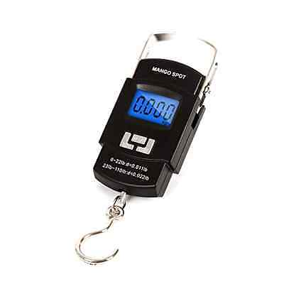 Portable Digital LCD Electronic Balance Fishing Hook Hanging Scale 50kg 10g, New