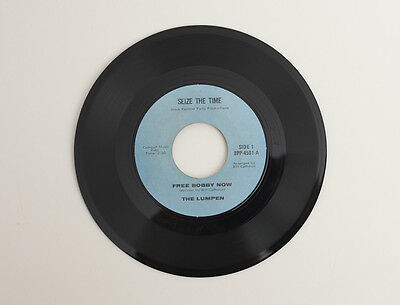 Black Panther Party Productions The Lumpen Free Bobby Now / No More Rare 45rpm