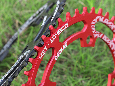 MTB Circle Single Chainring BCD104mm Big Ring 32T 40T 52T for Replace SHIMANO