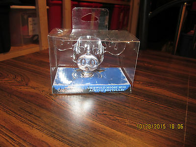 National Lampoon's Christmas Vacation Movie Griswold Moose Mug Shot Glass, NEW