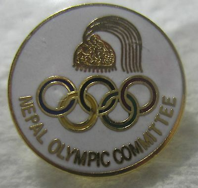 Nepal Olympic Noc Lapel Pin