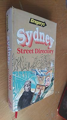 gregorys SYDNEY STREET DIRECTORY 1995 (60th anniversary edition) hardcover