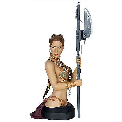 BANNED by DISNEY ~ SEXY 2010 SLAVE LEIA Figure BUST / STATUE Gentle Giant MIB