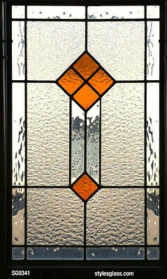 Stain glass heritage design window timeless  design  with obscure texture glass